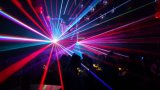 4 Chefes de luz laser em cores RGB iluminação de palco