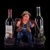 Шкаф вина держателя вина формы хуторянина для домашнего декора