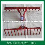 Tipos agriculturais da ferramenta da cabeça agricultural de aço do ancinho da ferramenta
