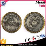 Изготовленный на заказ Antique серебряное штемпелюя выгравированное Bitcoin металла для сбывания