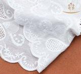 Tissu 100% neuf de lacet de coton du modèle H10015