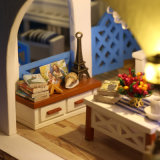 Insieme della mobilia del giocattolo, Camera di bambola dei bambini