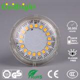 Proyector de cristal del shell GU10 LED con el Ce RoHS