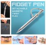 싱숭생숭함 펜은 잉크 펜 자석 금속구 펜 감압 펜 반대로 불안 장난감을 생각한다