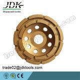 Diamante del JDK che frantuma/rotella abrasiva/di lucidatura della tazza per gli strumenti del marmo e del granito