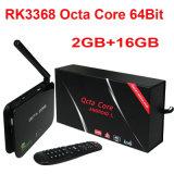 2g/16g OctaのコアRk3368 64bitは付Z4人間の特徴をもつTVボックスWiFi Ap6335 Xbmc Kodi二倍になる