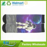 Хлопок полиэфира носки сублимации 360 градусов безшовным напечатанные пробелом