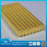 Detector de metais Gold Coating Neodymium Permanent NdFeB Magnets