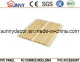 건축재료 플라스틱 박판 목제 위원회 PVC 천장, 장식적인 벽면