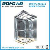 새로운 디자인을 식각하는 미러를 가진 작은 기계 룸 전송자 엘리베이터