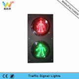 Mini luz verde roja modificada para requisitos particulares del peatón del tráfico de 125m m