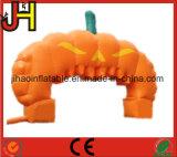 Arco gonfiabile della zucca per la decorazione di Halloween