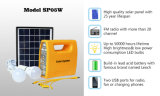 Système de d'éclairage solaire avec l'éclairage LED