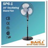 """Baili 16 """" oszillierender Standplatz-Ventilator mit runder Unterseite"""