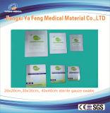 Tamponi medici della garza del cotone del rifornimento 8ply 100mmx100mm per la clinica