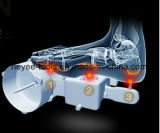 Rouleau-masseur de malaxage de pied de roulement de Shiatsu avec à télécommande