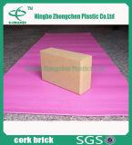 Briques à haute densité non-toxiques de yoga de liège de bloc mou respectueux de l'environnement de yoga