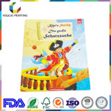 Livro do enigma de Casebound do livro da história do Hardcover para crianças