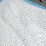 Faser ESD-Gewebe des 5mm Streifen-98%Polyester 2%Conductive