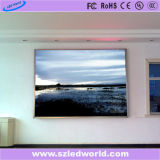 P4 en el interior de la pantalla LED de señal para la publicidad de la junta