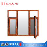 Guichet en verre inférieur de tissu pour rideaux d'alliage d'aluminium d'E pour la décoration à la maison