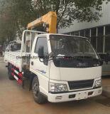 Jmc 6 Vrachtwagen van de Lading van de Kraan van 2 T van Wielen de Telescopische Opgezet met Kraan