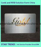 Hôtel de luxe Carte de porte avec Hot timbre Fleuret or ou argent