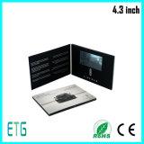 최신 판매 4.3 인치 128MB A5 LCD 선수 광고를 위한 영상 인사장