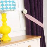 Lujo duradera 100% poliéster cortinas cortina con hilado teñido