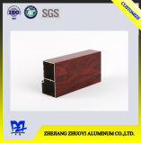 Espulsione di alluminio con superficie di legno