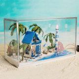 Mini casa do modelo da casa de campo 2017 para o presente dos amigos