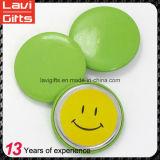 Дешевый изготовленный на заказ значок кнопки олова с логосом