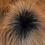 Pelliccia lunga del tessuto a riccio della pelliccia del mackintosh del Faux della pelliccia del franco della pelliccia acrilica del tessuto
