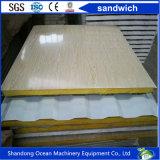 Comitato di parete della Camera del contenitore del panino delle lane di roccia/vetro di Wool/EPS/PU per la Camera d'acciaio prefabbricata del contenitore