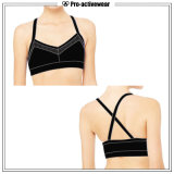 Anti Bacterial Wholesale Push Up Woman Sports Set Bra