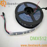 Fita LED DMX 48 levou 16 pixels
