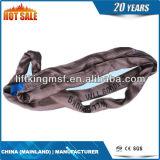 Tipo di nylon imbracatura rotonda di protezione della cinghia dell'imbracatura
