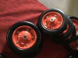 300-8 roda livre lisa da espuma do plutônio