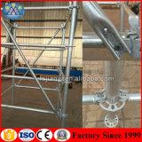 Europäische Art-haltbares und beständiges galvanisiertes Gestell Ringlock Baugerüst-System