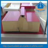 Панели стены/крыши сандвича PU строительного материала изолированные полиуретаном