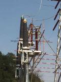 Terminal de cabos ao ar livre de 66kv / 145kv / 245kv H. V Votage com borracha de silicone ou bucha de porcelana