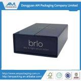 Besopke Qualitäts-magnetischer 2 Türgeöffneter Sun-Lotion-Geschenk-Kasten mit schwarzer EVA-Einlage