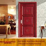 Дверь спальни нутряной двери твердой древесины деревянная (GSP2-068)