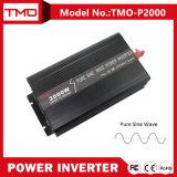 C.C de 12V 24V 48V à AC 110V 220V outre de C.C du réseau 2000W à l'inverseur 24V 120V d'alimentation CC