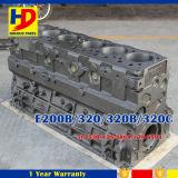 Bloco de cilindro das peças sobresselentes S6k E200b 320b 320c do motor das máquinas escavadoras