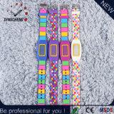 Relógio do presente de Digitas do relógio das mulheres da promoção do diodo emissor de luz Pratical da forma