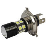 Heet verkoop het Waterdichte Auto LEIDENE 12SMD van de Lamp H4 Hi/Lo 7W CREE+5050 Licht van de Mist