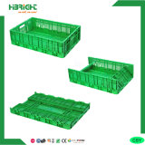 Cassa di verdure di plastica scaricata pieghevole della frutta dei pp