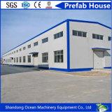 Hermoso edificio de la construcción de personalización de diseño de estructura de acero para la Fábrica Showroom con bajo presupuesto