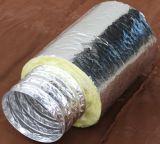 Duto de alumínio flexível isolado